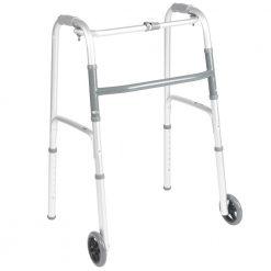 Алуминиева проходилка за възрастни с колела