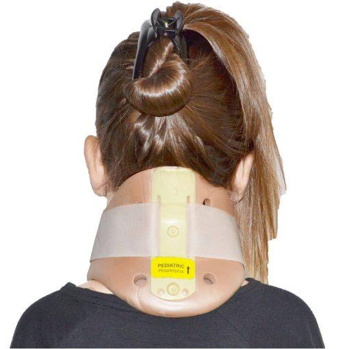 Детска ортопедична двустранна шийна яка