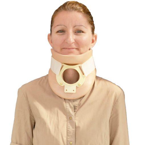 Двустранна ортопедична шийна яка за врат