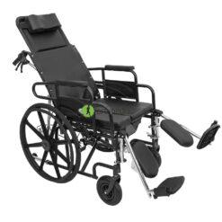 Разтегателна инвалидна количка-тоалетен стол