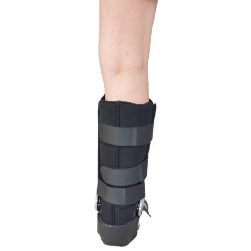 Ортопедичен пластмасов ботуш с градуси