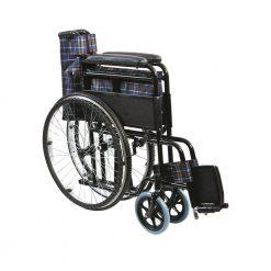 Сгъваема стоманена инвалидна количка