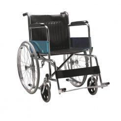 Стоманена инвалидна количка