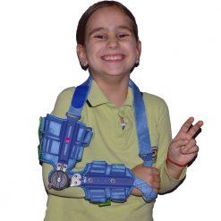 Детска ортеза за ръка с градуси за флексия и екстензия