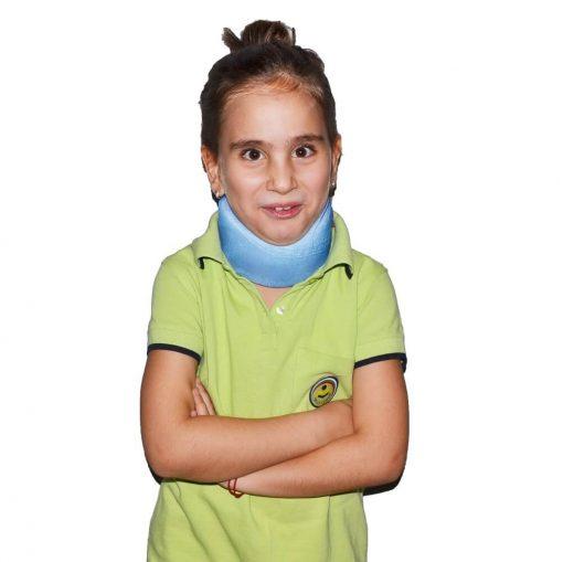 Ортопедична яка за врат за деца с мека фиксация