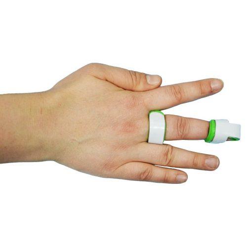 Алуминиева шина за пръст с мека подложка