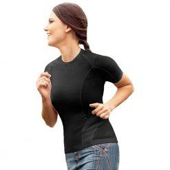 Дамска тениска за изправена стойка на гърба