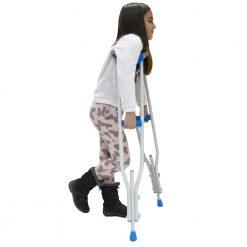 Детска подмишнична алуминиева патерица за деца
