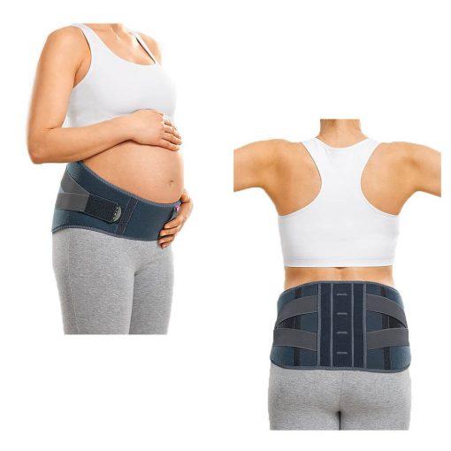 Колан за бременни с шини стабилност и опора на кръст