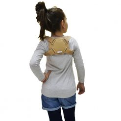 Детски колан за изправени рамене и правилна стойка