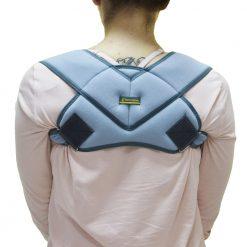 Колан за изправяне на рамене и фиксиране на ключица