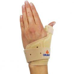 Ортеза за китка и палец с алуминиеви пластини
