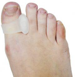 Силиконов разделител за палец от показалец на крак