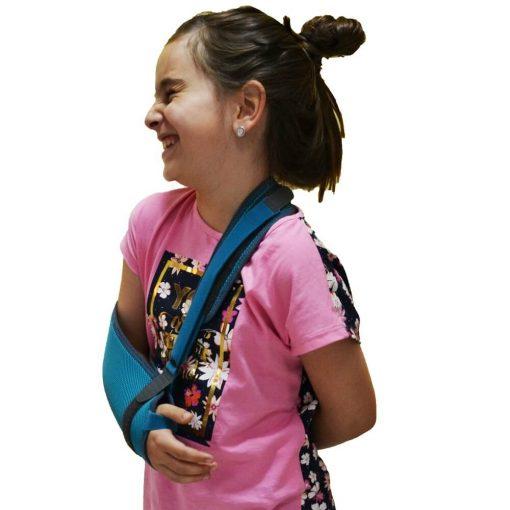 Детски фиксатор митела за гипсирана ръка