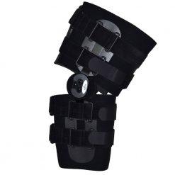 Шарнирна шина за обездвижване на коляно с градуси