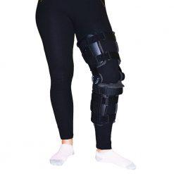 Шарнирна шина за обездвижване на коляното