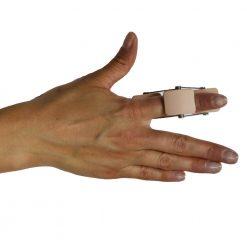 Шина за пръст поддържаща фалангите в екстензия