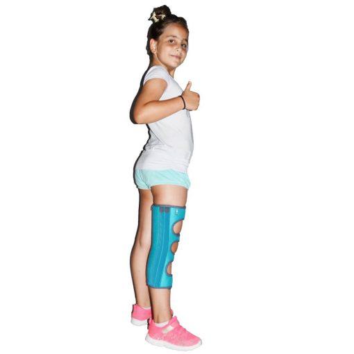 Детски тутор за обездвижване на коляното