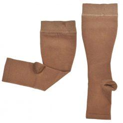 Компресивни къси чорапи с отворени пръсти