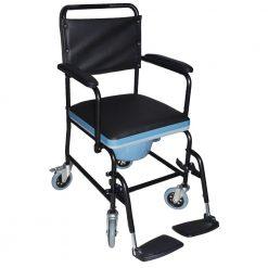 Комбиниран тоалетен стол за инвалиди