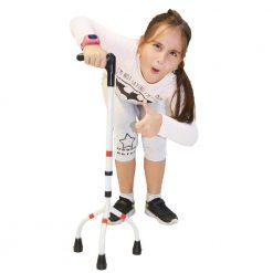 Алуминиев триопорен бастун за деца