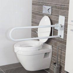 Сгъваема дръжка за баня за подпиране