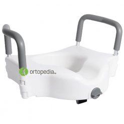 Повдигаща седалка за тоалетна с дръжки