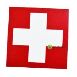 Стикер първа помощ - червен цвят