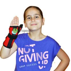 Детска шина за китка и палец