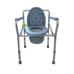 Тоалетен стол сгъваем със сменяемо гърне