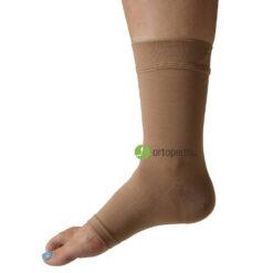 Компресивен чорап наглезенка с отворени пръсти