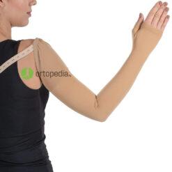 Компресивен ръкав с палец-втора компресия