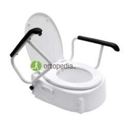 Повдигаща седалка за тоалетна с дръжки-регулируема