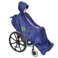 Дъждобран за инвалидна количка с ластик