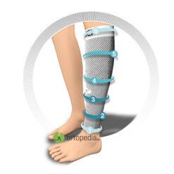 Компресивни чорапи за прасец-немски