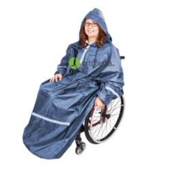 Дъждобран за инвалиди с ръкави-покриващ краката
