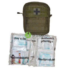 Аптечка за първа помощ-оборудвана 40 части