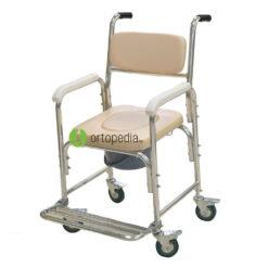 Инвалиден стол с гърне-мека седалка