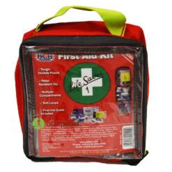Компактна оборудвана аптечка за първа помощ