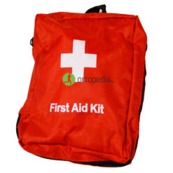 Оборудвана аптечка за първа помощ